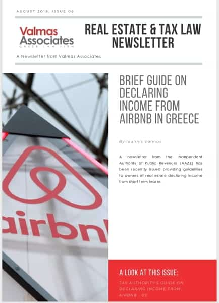 Airbnb Taxation in Greece