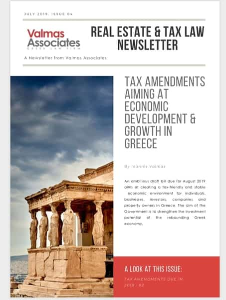 Tax Law Amendments in Greece
